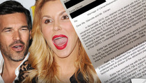 Eddie Cibrian to Brandi Glanville: I OVERPAID You Alimony -- Now Settle Up