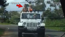 Steven Tyler's Topless Joyride in Hawaii -- How Many Naked Chicks Can You Count?