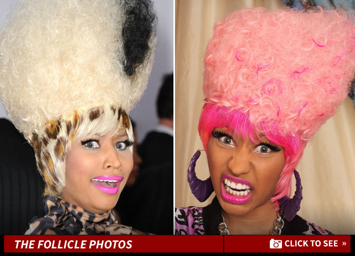 Nicki Minaj Sued Her Hair Guy Wigs Out Tmz Com