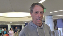 Tony Hawk -- There's ONE Rapper ... Who's LEGIT on a Skateboard