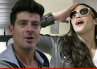 Robin Thicke's Wife Paula Patton -- Enough Is Enough ... We're Separating