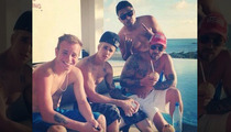 Justin Bieber --  Birthday Partying Bahamas Style