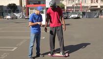 Terrell Owens & Tony Hawk -- Appear in Mystery Hover Board Spot