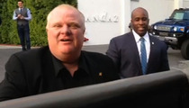 Crack Mayor Rob Ford -- I'm Done Partying ... I Got an Election to Win!!!