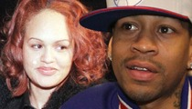 Allen Iverson's Wife -- WE BURIED THE HATCHET ... for the Sake of the Kids