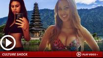 Miss Indonesia -- I've Got a Secret ... TUCKED Away