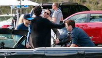 'Entourage' Movie -- Ari and Vince ... HUGGING IT OUT!!