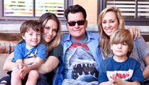 Charlie Sheen Smokes Peace Pipe With Brooke Mueller