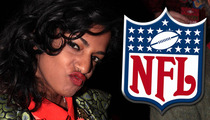 M.I.A. to NFL -- My Middle Finger Was Tame ... Compared to Prince's Penis Guitar