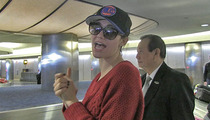 Emmy Rossum -- Real Knicks Fans ... DON'T ROOT FOR THE NETS!