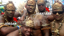 NFL Brothers -- Carnival Kicked Our Asses!