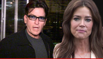 Charlie Sheen -- I'm Cutting Off Denise Richards