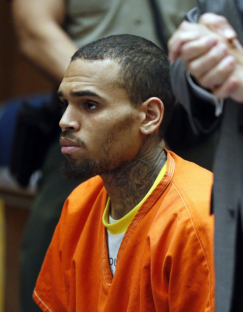 Chris Brown was taken back to jail after getting thrown out of a rehab facility in Malibu in March 2014.