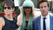 Halle Berry & Amanda Bynes -- Homeless Woman Hijacks L.A. Court System ... To Pitch Her TV Show