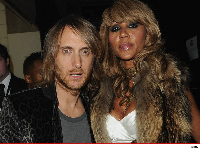 David Guetta And His Wife Cathy