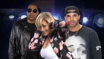 Drake and Jay Z -- They Got Beef ... Over Picassos, Baby