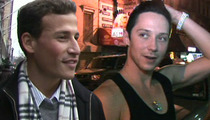 Johnny Weir's Husband -- I'm Going to Battered Women's School