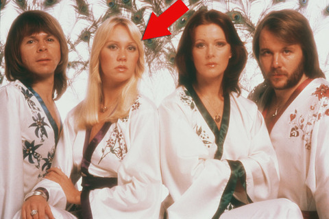 "Agnetha Faltskog was only 20-years-old when she became the hot blonde in the '70s Swedish pop quartette ""ABBA."""