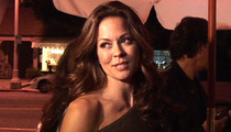 Brooke Burke Car Accident -- Bangs Up Maserati... My Steering Wheel Screwed Me!