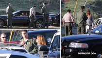Brooke Burke Field Sobriety Test -- Drunk Treatment After Maserati Crash [VIDEO]