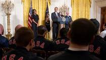 Team USA Olympians -- Warned at White House ... NO SELFIES WITH OBAMA!