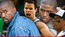 Kanye West: 'I Won' Kim Kardashian -- Calls Out NFL, NBA Stars ... I Defeated You