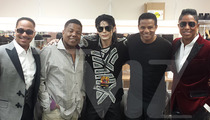 Michael Jackson Impersonator Joined The Jacksons ... Well, For A Minute