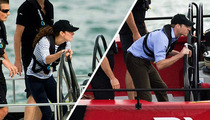 Kate Middleton -- Duchess Crushess Prince William at Sea