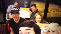 Golfer Bubba Watson -- Hits Waffle House After Masters Win ... Grilled Cheese, Please!