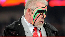 Ultimate Warrior -- Stop Selling Knock-Off Merch ... Or We'll Sue