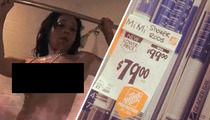 'Love and Hip Hop' Sex Tape -- Mimi Faust Bangs ... Shower Rods Pop