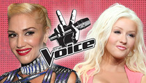 Gwen Stefani on 'The Voice' -- Taking Christina Aguilera's Seat as Judge