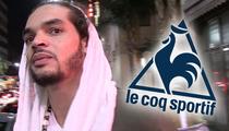 Joakim Noah SUES Le Coq Sportif -- I Wore Your Crappy Shoes & You Screwed Me!