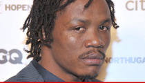 Kassim Ouma ARRESTED FOR BATTERY -- K.O.'s Guy Over Alleged Gay Passes