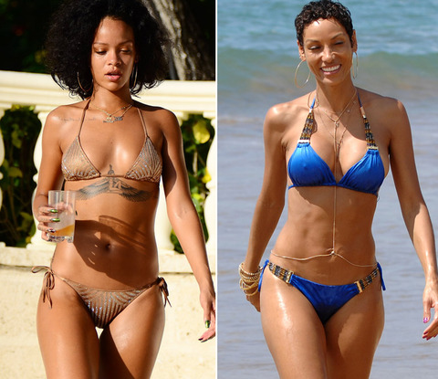 Vote for which of these fleshy famous people is hotter!