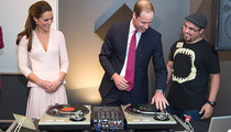 Prince WIlliam DJ'ing Like a Commoner -- Is This What the Poors Are Doing These Days?