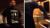 Xzibit -- Throws Chair at Aussie Rapper in EPIC Meltdown