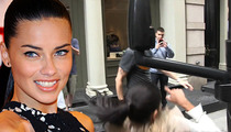 Adriana Lima -- Legend of the Fall in Head Crushing Video