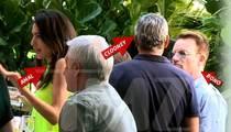George Clooney Celebrates Engagement with Freakin' Bono!