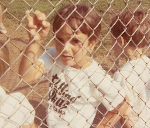 Before this fenced in dude was a Hollywood hunk... he was just another sporty little sprout growing up in Forest Hills, New York.