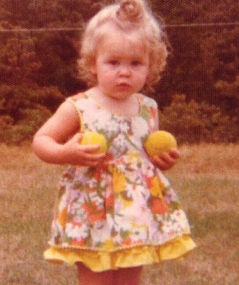 Before this little sports enthusiast was a Hollywood funny girl she was just another cute little kid growing up in Livingston, New Jersey.