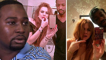 Lindsay Lohan Partying in Cannes -- Yes She Cannes... Party With Black Guys