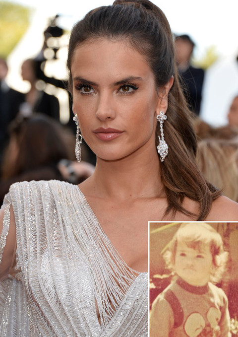 It's Alessandra Ambrosio!