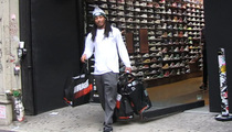 NY Jets Rookie Safety -- OH, THE SHOEMANITY ... Goes On 1st NYC Shopping Spree!