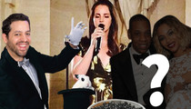 Kim Kardashian & Kanye West Wedding Dinner -- No Jay Z & Beyonce ... But the Caviar Was to Die For