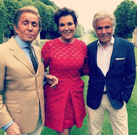 Valentino, Kris and Giancarlo