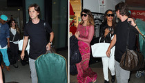 Kimye Wedding -- Famous Friends Flock to Florence