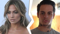 Jennifer Lopez, Casper Smart -- WE'VE SPLIT ... But it Has Nothing to do with Transsexual Texts