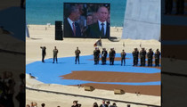 NBA's Nicolas Batum -- Takes 'Picture of the Year' ... At D-Day Ceremony In Normandy