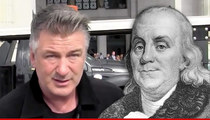 Alec Baldwin -- Ben Franklin Movie Plans Revealed in Soap Star's Divorce